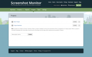 Screenshot Monitor Project
