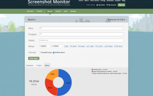 Screenshot Monitor Report