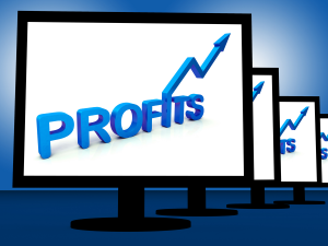 Profits on Monitor