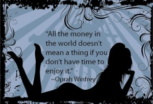 Oprah Winfrey Time Quote