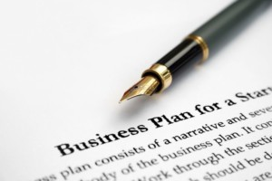 Business Plan for Startup Graphic
