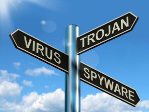 virus-trojan-spyware-signpost