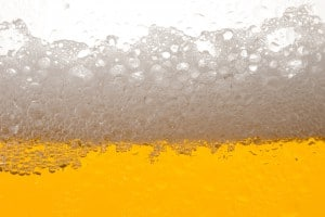Detail of a Beer Glass