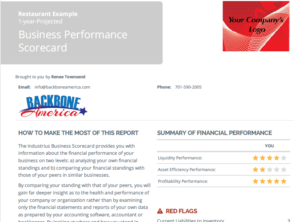 Business Performance Scorecard