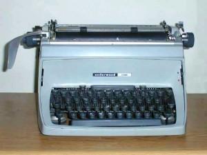 Underwood five Typewriter