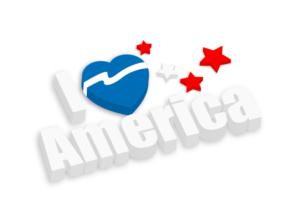 i-love-america-3d-banner