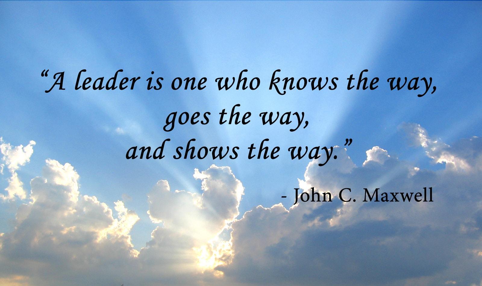 Leadership Skills, Leader