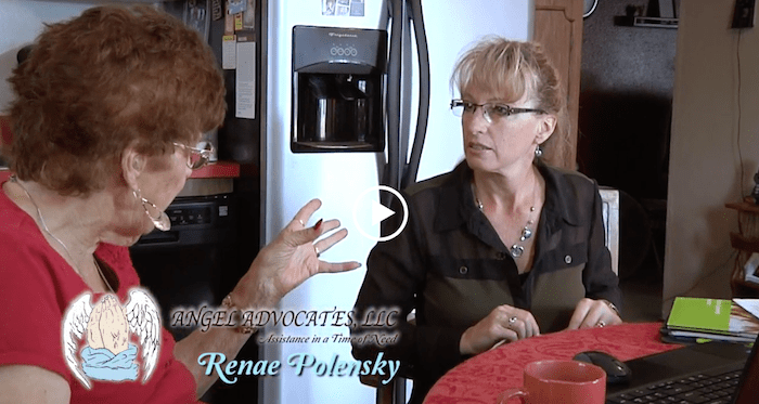 Renae Polensky with Client-min
