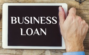 Tablet with Business Loan - new business loans