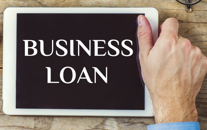 Tablet with Business Loan - Business Startup Loans