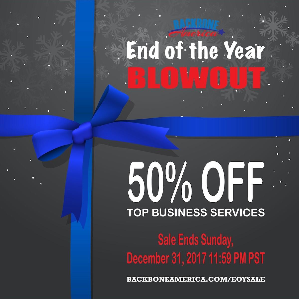 EOY Blowout Sale