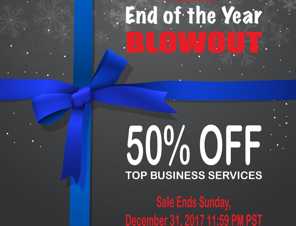 End of the Year Blowout!