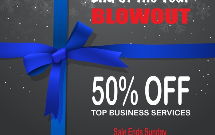 EOY Blowout Sale
