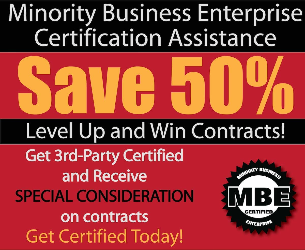 End of the year blowout backbone america corporations and government agencies are actively seeking minority owned businesses to work with get certified to take advantage of xflitez Gallery
