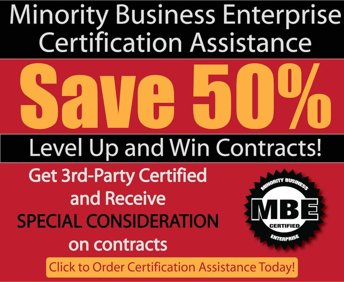 Minority Business Enterprise Certification Assistance Backbone America