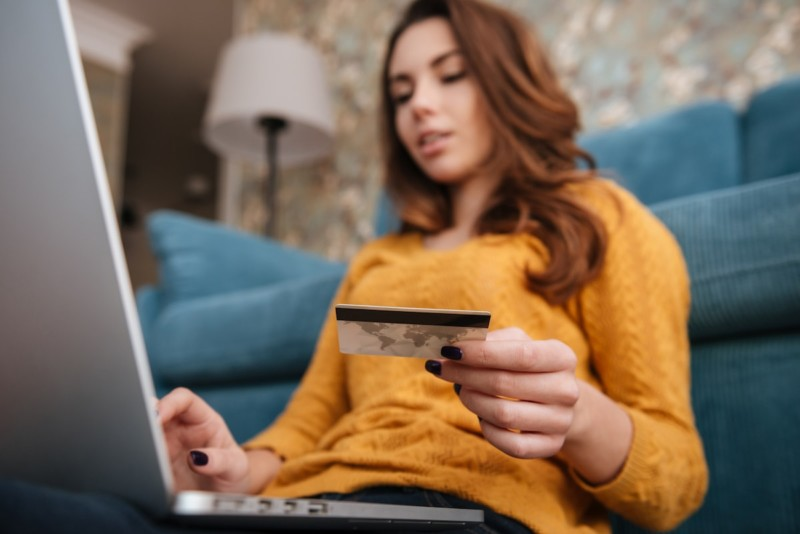 Women with Credit Card - Credit Card Services