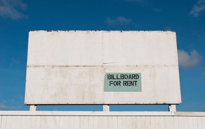 billboard for rent - advertising business