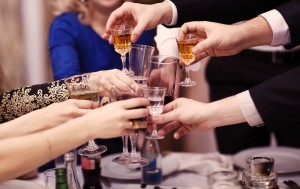 formal group toasting - event planning companies
