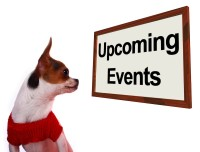 upcoming events sign - event planning business plan